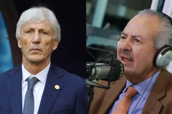 Darío Arizmendi arremetió contra José Néstor Pékerman