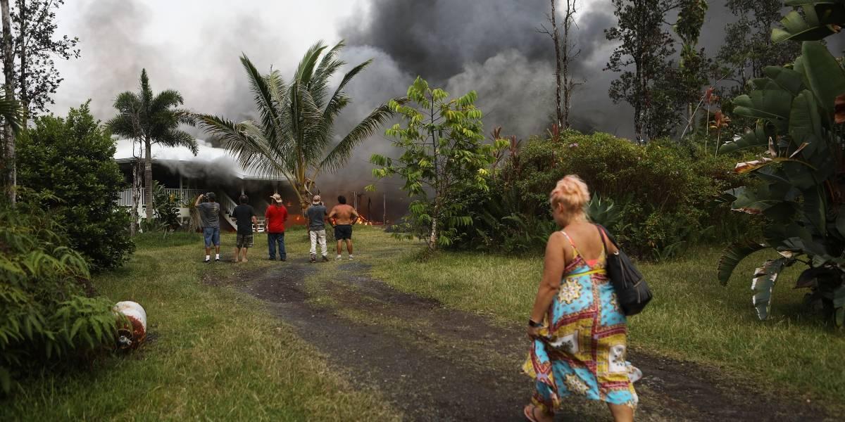 El volcán Kilauea también arroja piedras preciosas
