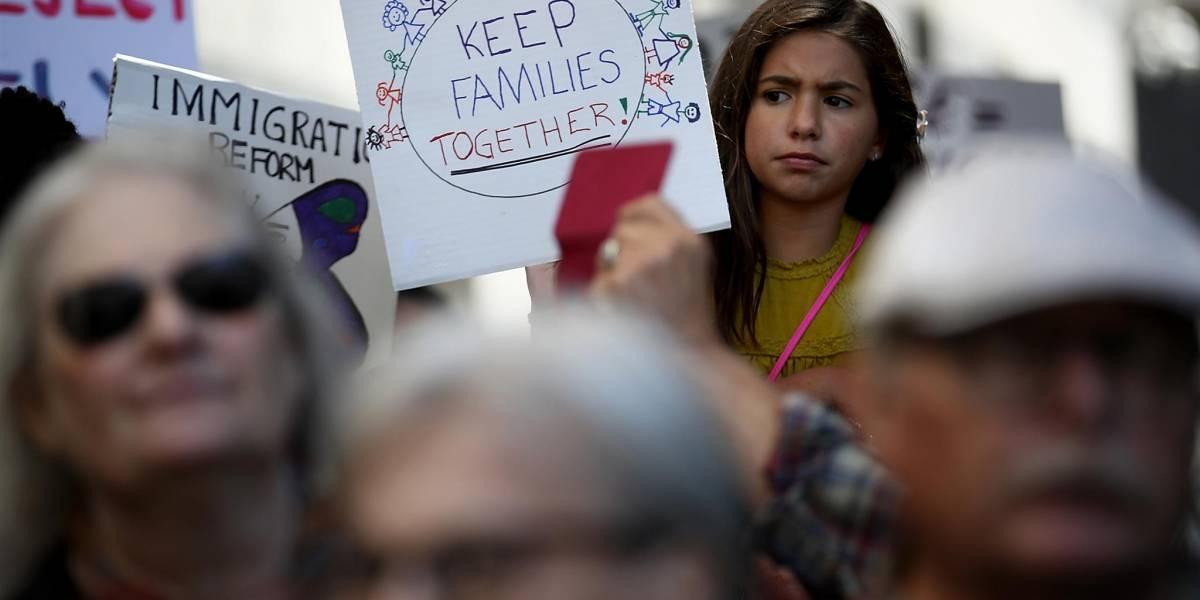 Trump permitirá que niños sean encarcelados junto a sus padres