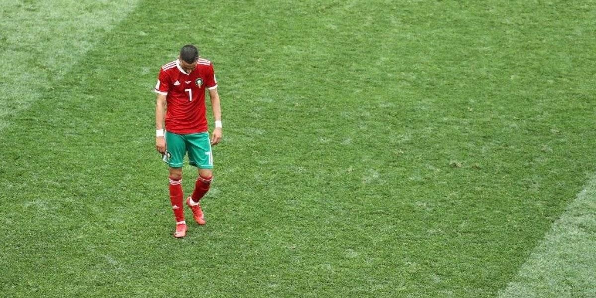 Marruecos, el primer eliminado del Mundial de Rusia 2018
