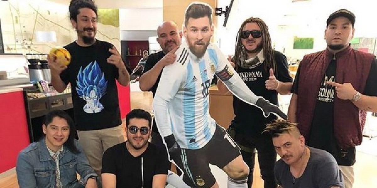 Gondwana hace buen equipo con Leo Messi