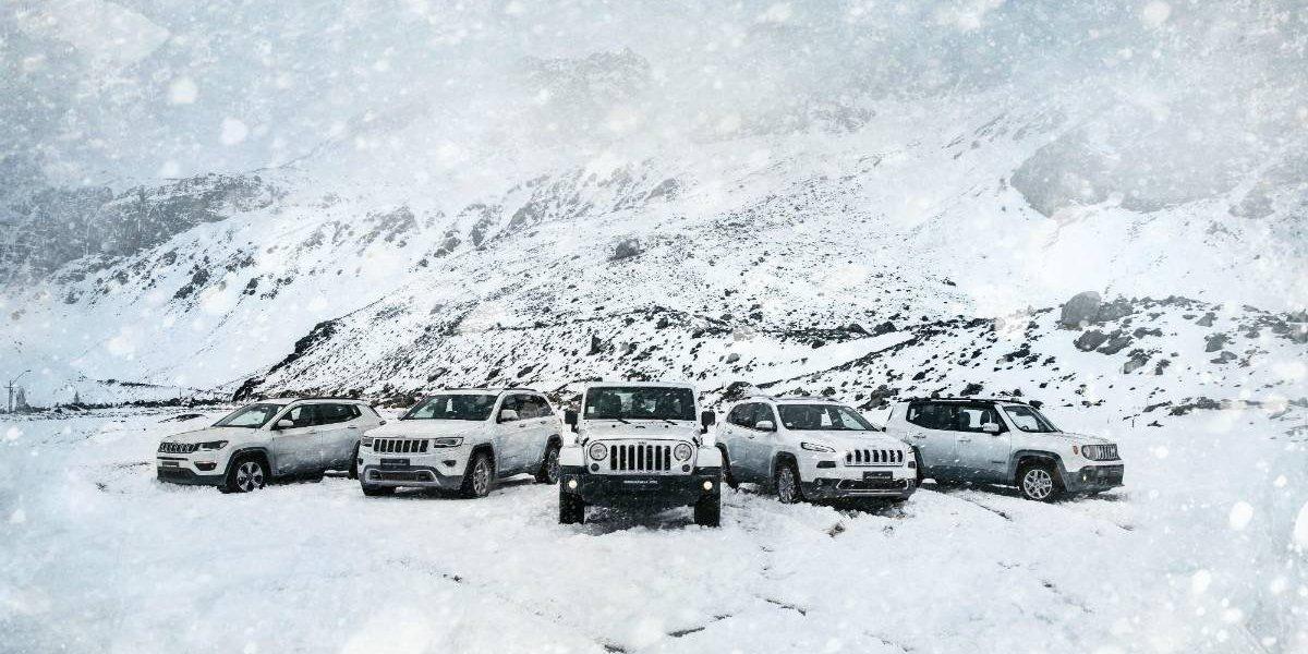 Jeep abre la temporada de nieve en Valle Nevado