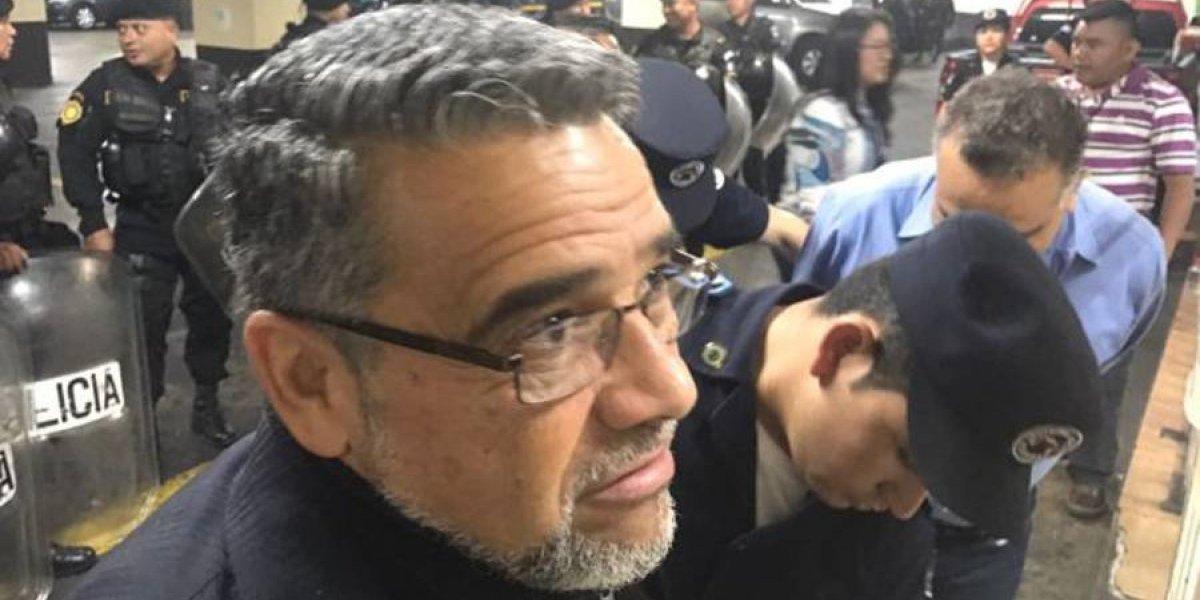 Manuel Barquín es trasladado del Preventivo zona 18 a un hospital