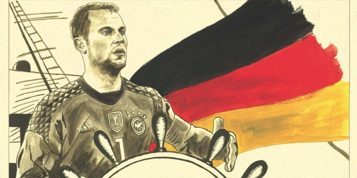 """Neuer, el """"comandante"""" quesuperó la adversidad para dirigir a Alemania en el Mundial"""