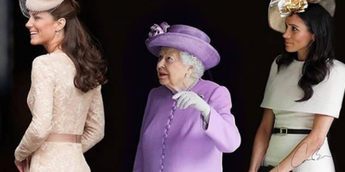 Por estas razones la reina Isabel II prefiere a Meghan que a Kate Middleton
