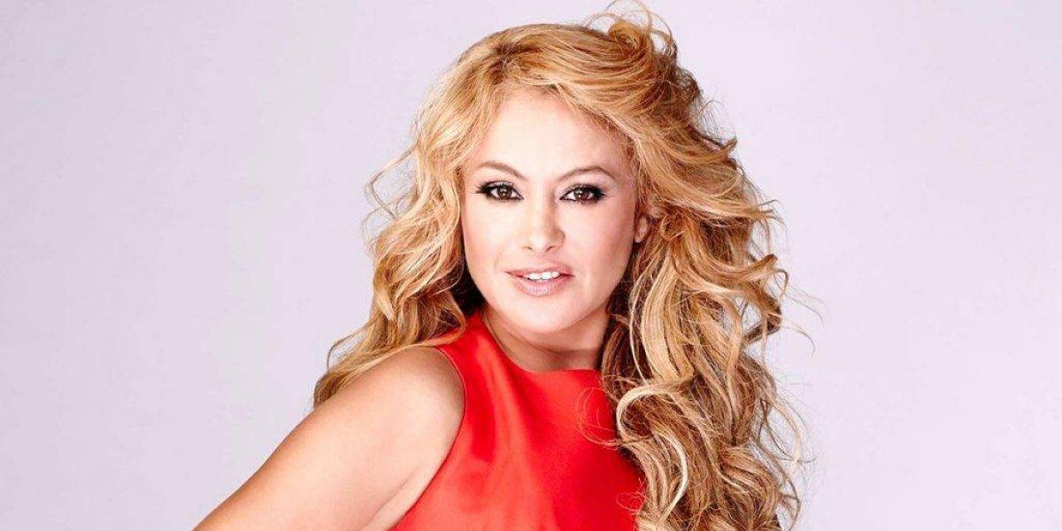 FOTOS. Paulina Rubio aparece con un rostro irreconocible en un programa español