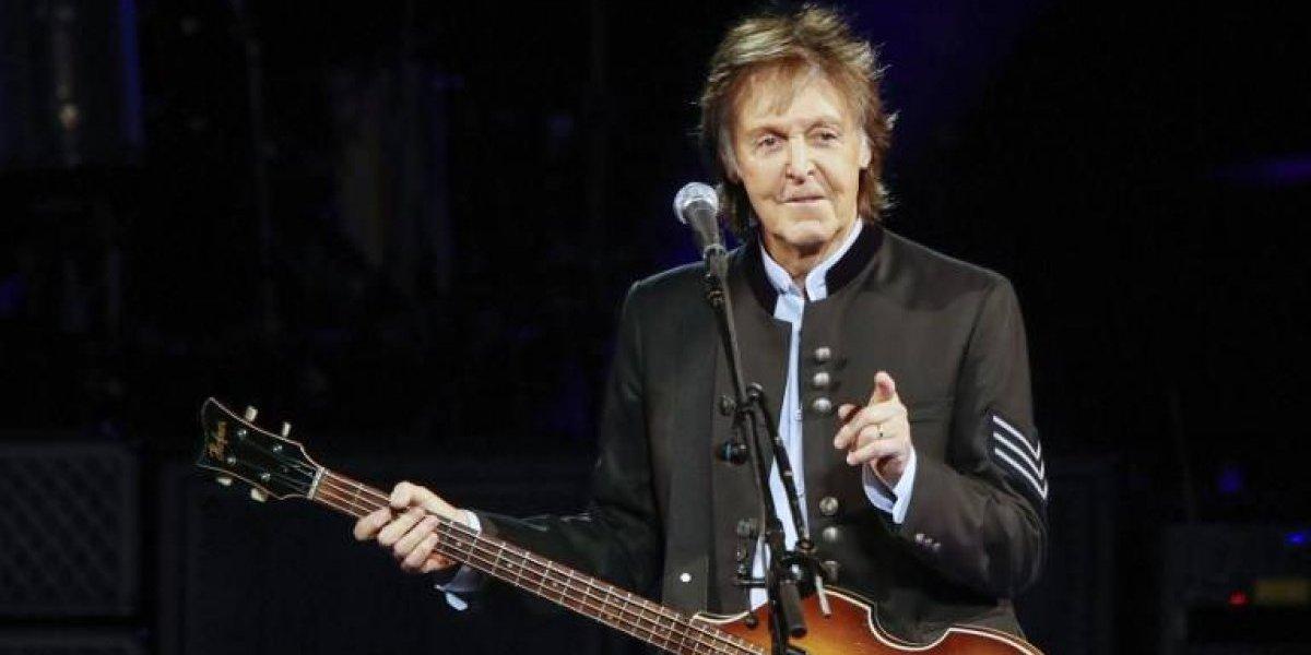 Paul McCartney anunció el lanzamiento de su primer álbum en cinco años