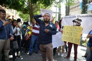 agentes de PNC piden mejoras salariales