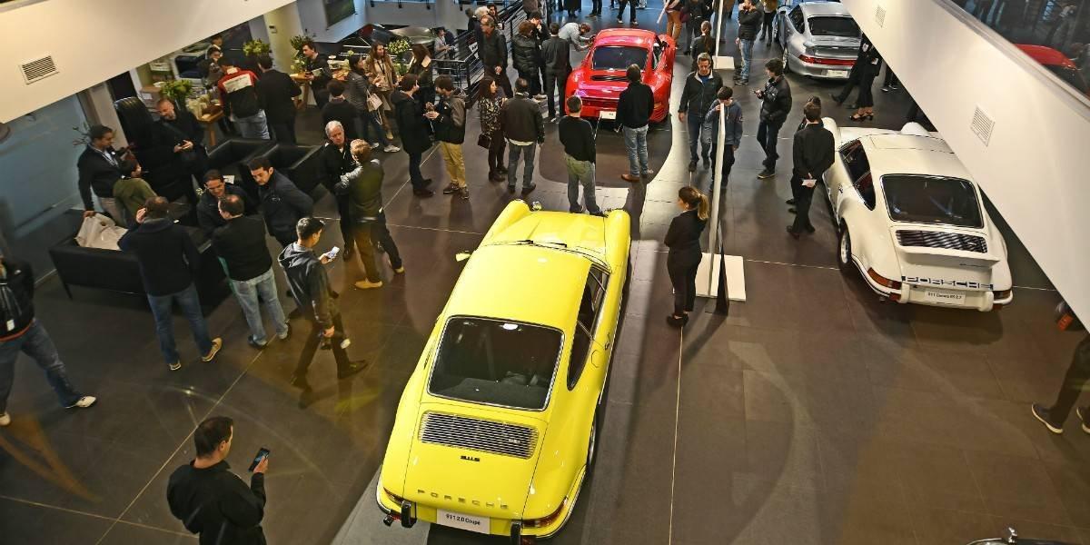 Así Porsche celebró en Chile sus 70 años de vida