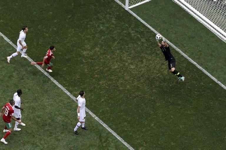 Rui Patricio salvó a Portugal en varias ocasiones
