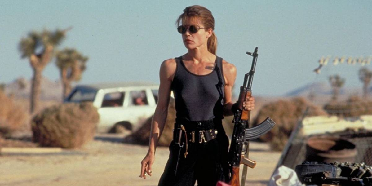 Primeras imágenes de Linda Hamilton como Sarah Connor en Terminator 6