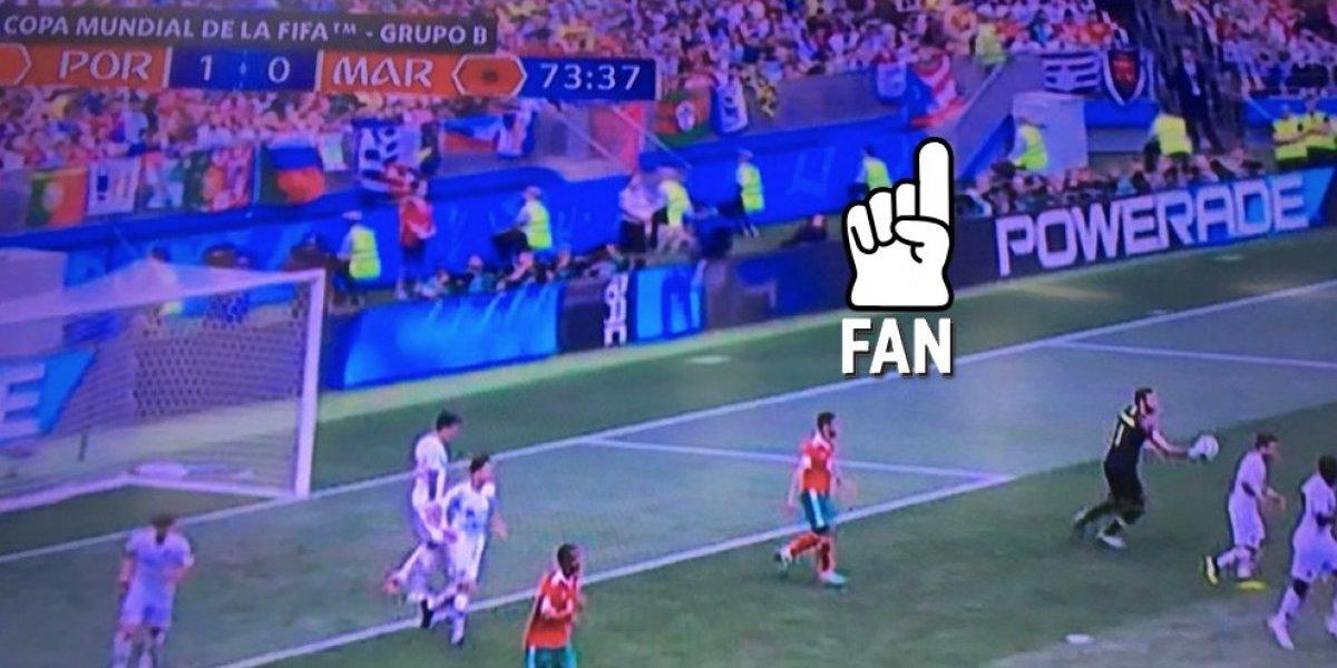 """Bandera de Puerto Rico se """"cuela"""" en el Mundial Rusia 2018"""