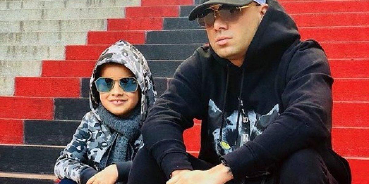 El conmovedor detalle de Wisin con su hijo