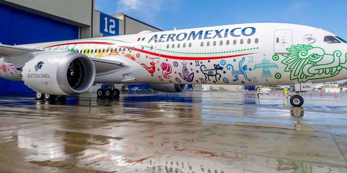 Aeroméxico logra ahorros en agua y CO2 por su política verde