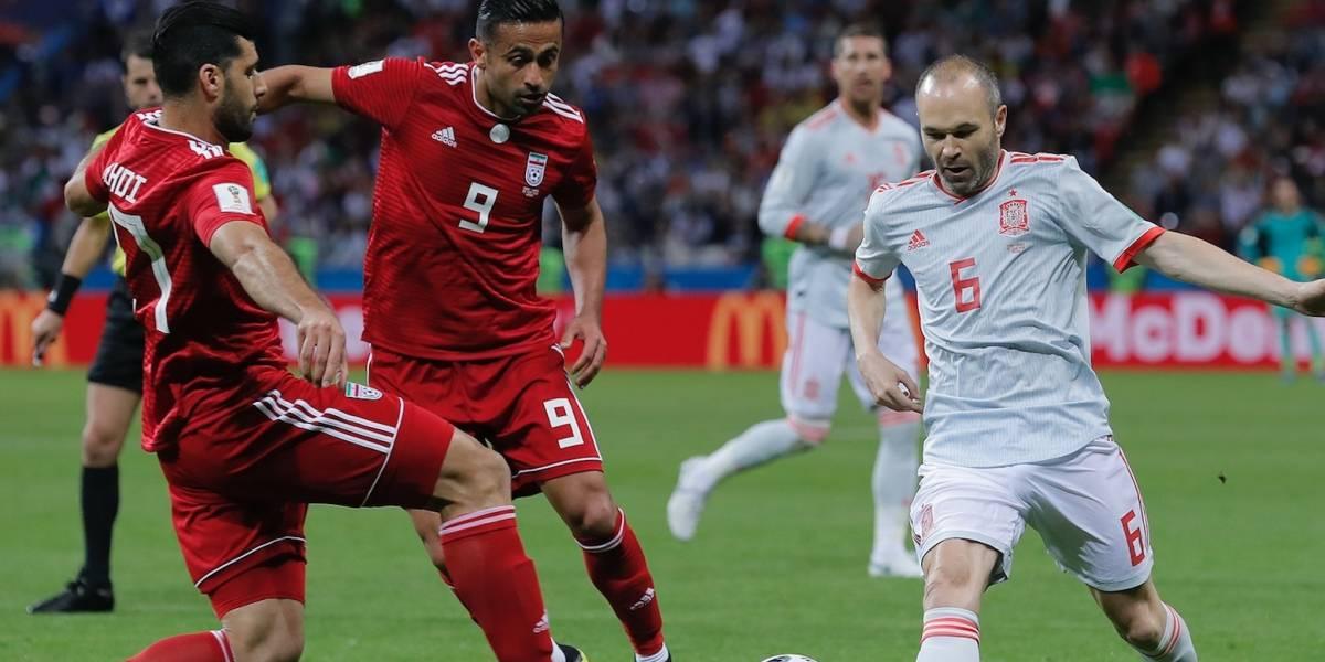 España se impone ante Irán 1-0