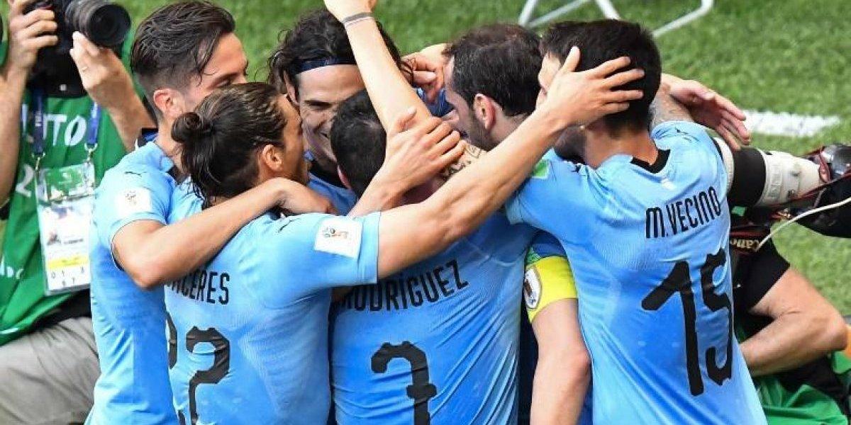 """Victoria a """"la uruguaya"""" y clasificación a los octavos de final"""