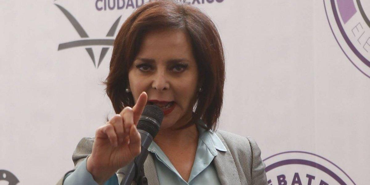 Candidatos de CDMX ignoran formato del debate y se dedican a atacarse