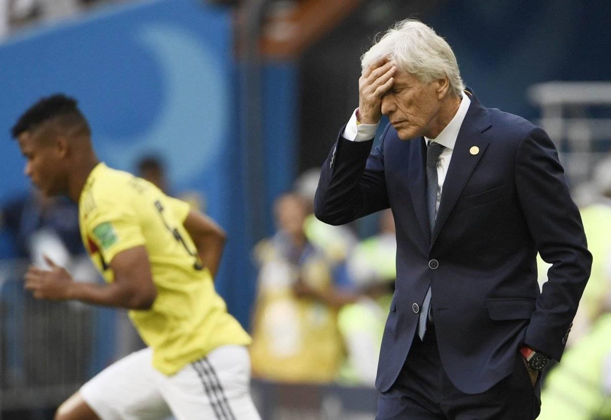 José Pekerman perdió el primer juego con Colombia