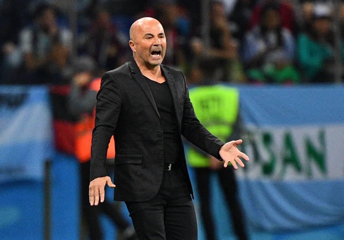 A Sampaoli le quedó la selección de Argentina