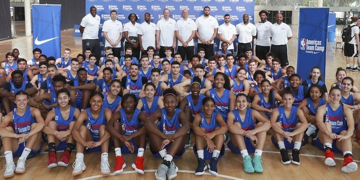 Americas Team Camp de la NBA se llevó a cabo con éxito en México