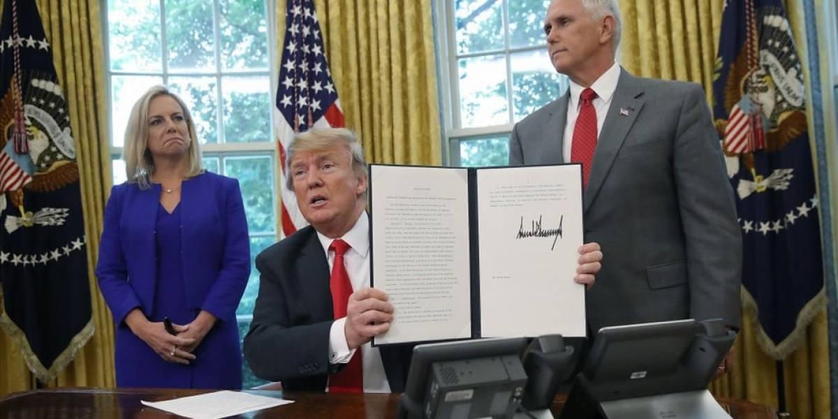 3 incógnitas que deja la orden de Trump de revocar la política de separar a niños inmigrantes de sus padres en la frontera