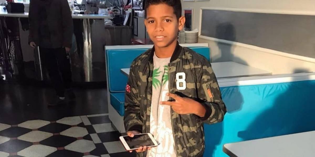Conheça MC Bruninho, funkeiro de 11 anos que conquistou Neymar e Gabriel Jesus na Copa da Rússia