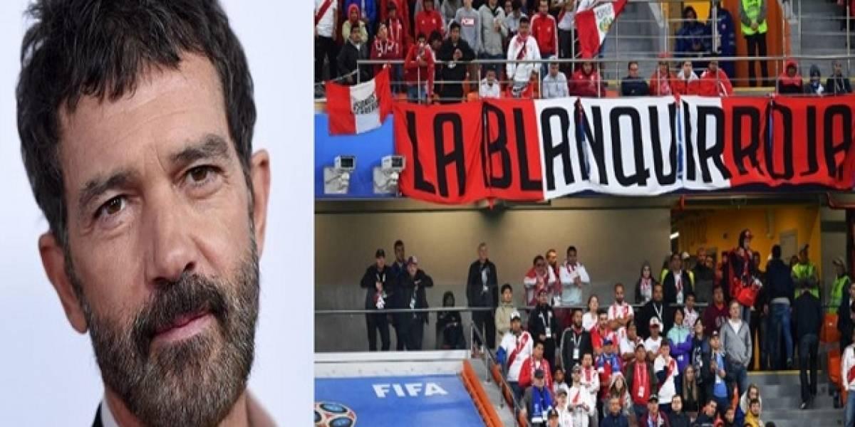 """""""Me quito el sombrero"""": Antonio Banderas envía emotivo mensaje a Perú tras derrota ante Francia"""