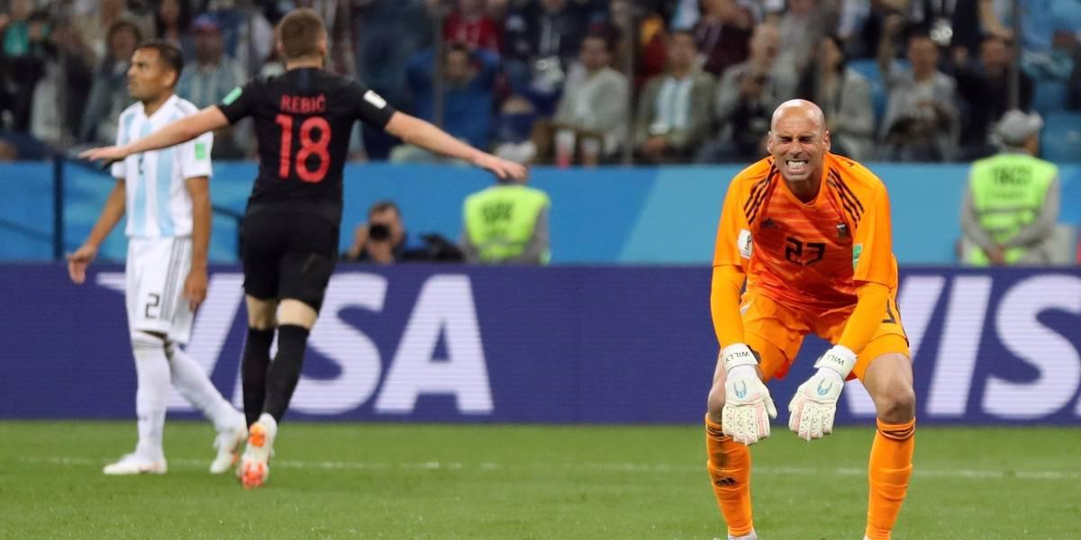 AO VIVO: Croácia marca o terceiro contra a Argentina