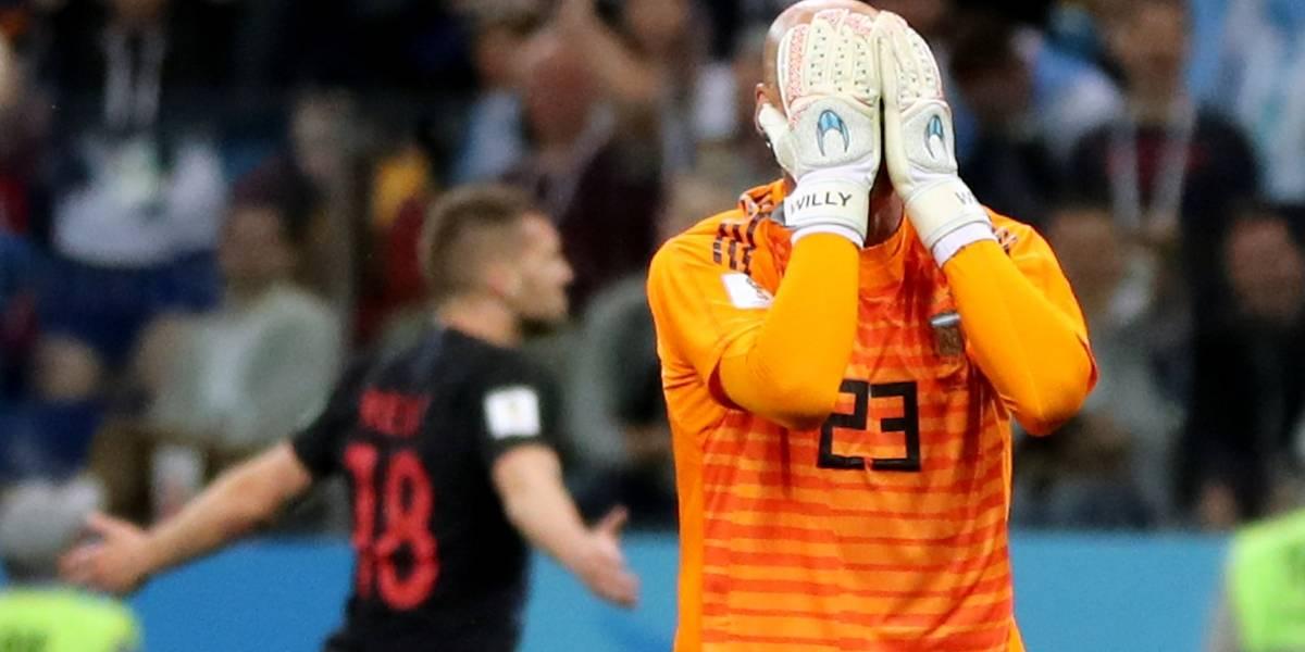 Copa do Mundo: Essas são as caretas dos jogadores argentinos que perdem para a Croácia neste momento