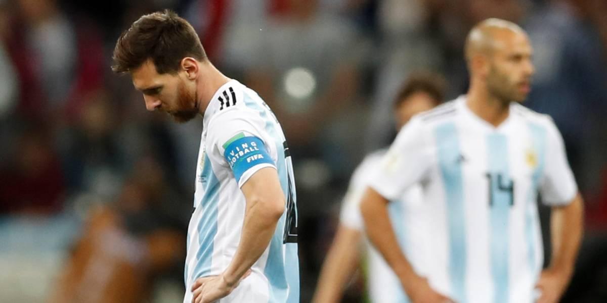 Copa do Mundo: Croácia atropela a Argentina