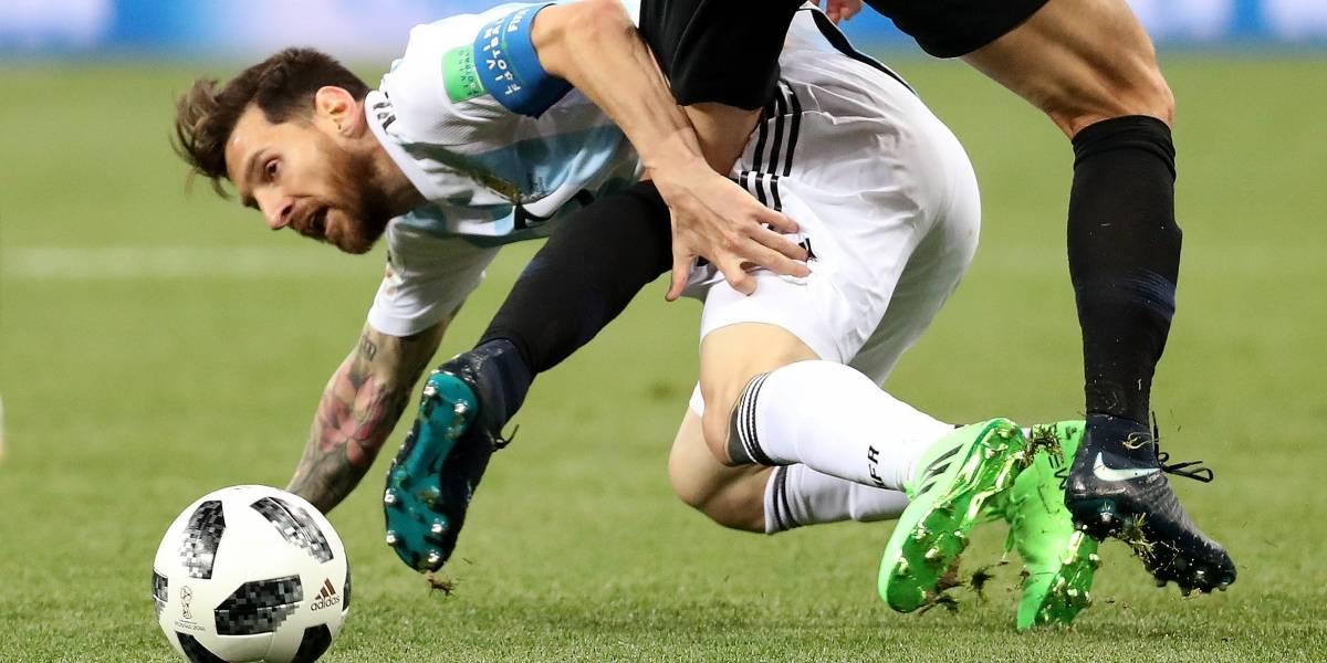 Argentina é massacrada pela Croácia na Copa; veja caretas de Messi