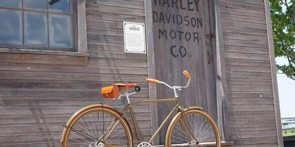 Harley Davidson lanza una bicicleta vintage que cuesta 4.200 dólares
