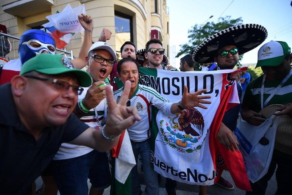 Los aficionados le dieron la bienvenida al Tricolor Getty Images