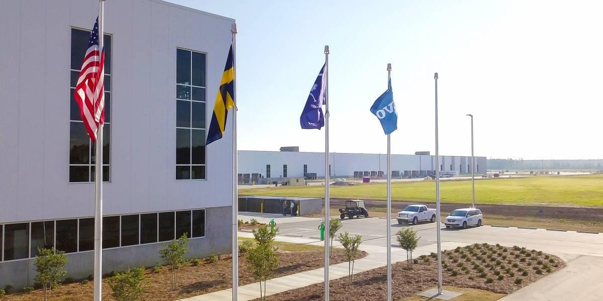 Volvo Cars inaugura su primera fábrica en Estados Unidos