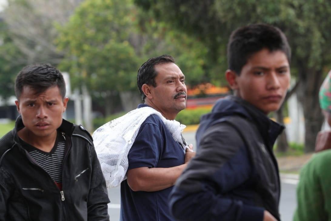 Migrante Gustavo Díaz