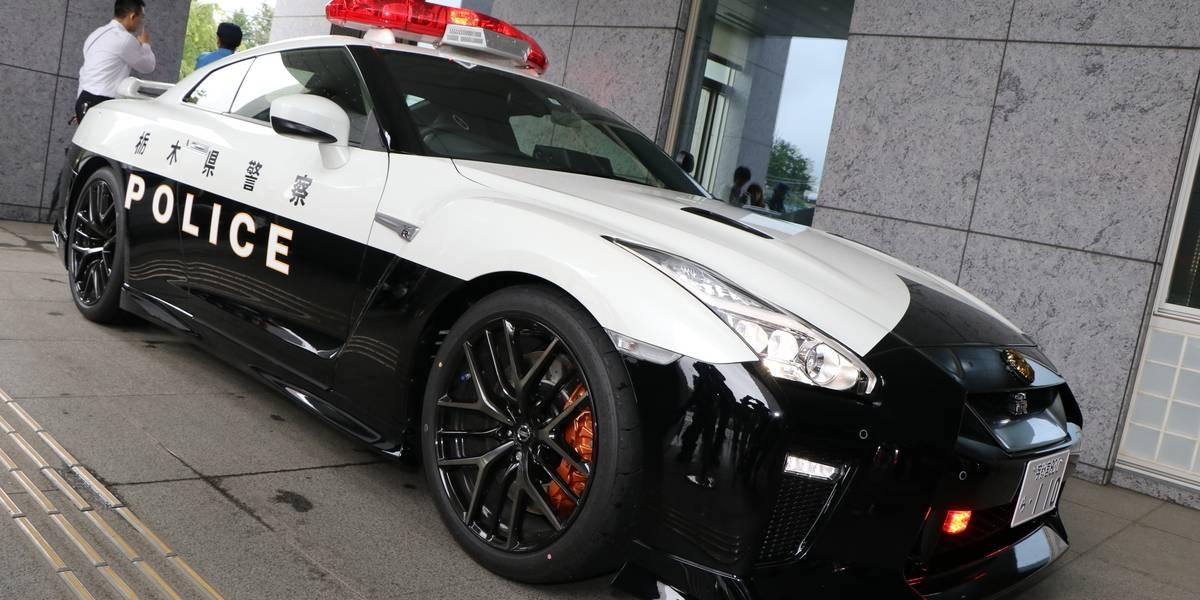 Así se combate el crimen: en Japón, la Policía suma un Nissan GT-R