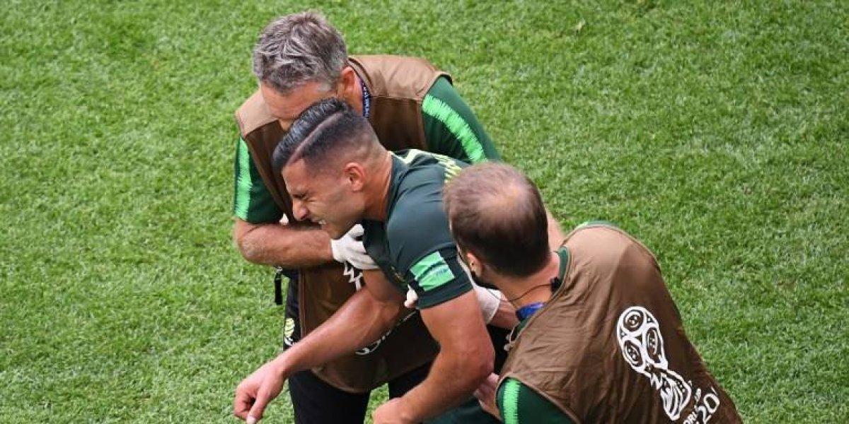 El doloroso momento que vivió un jugador de Australia en el partido
