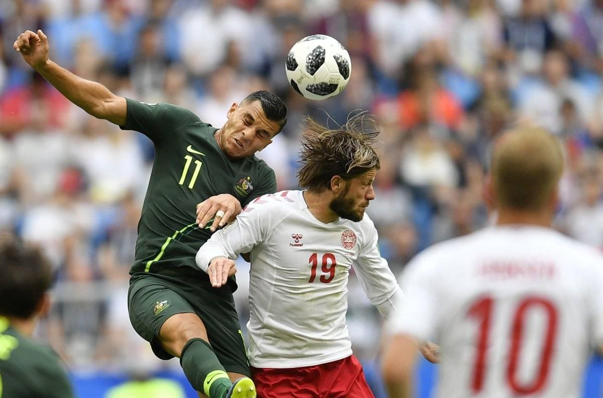 Dinamarca vs Australia: Los