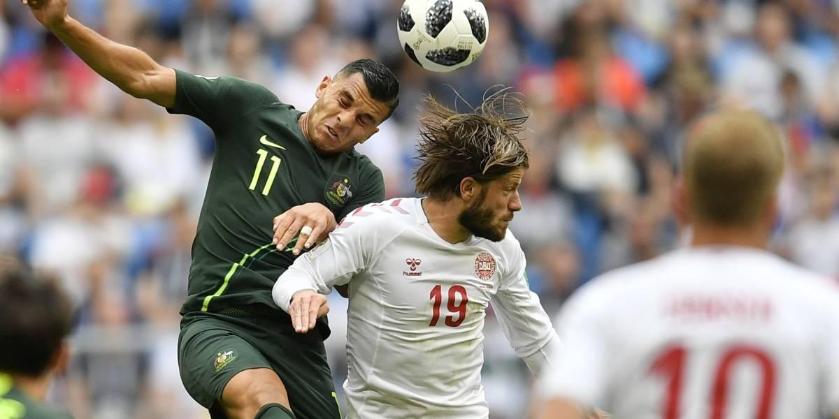Dinamarca vs Australia: Los 'Canguros' se mantienen vivos y complican las cosas a Perú