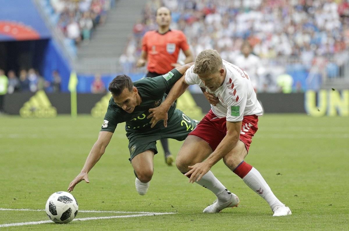 Fuerte lesión de delantero australiano Getty Images