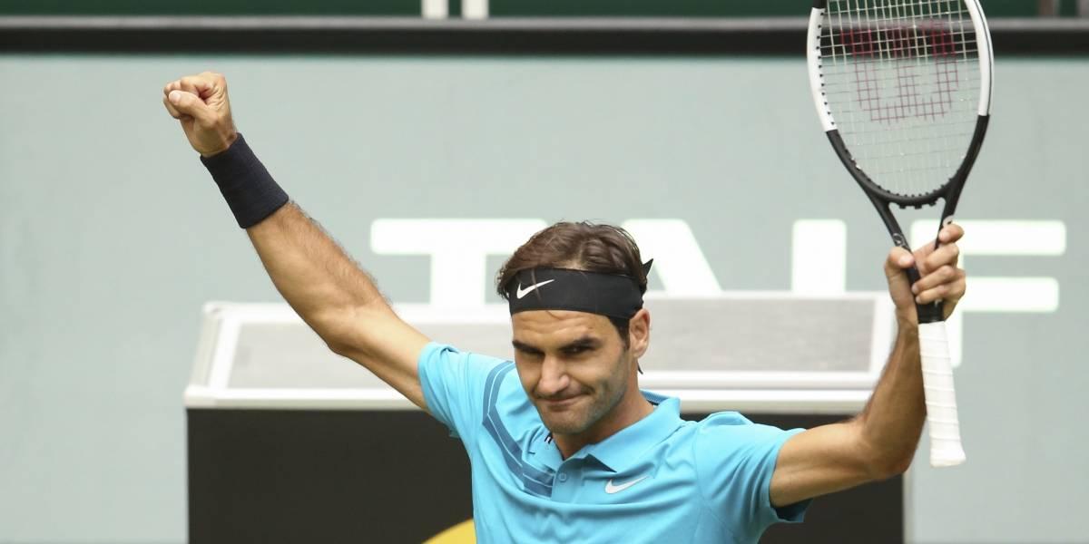 Se salvó Federer: avanza a cuartos de Halle tras levantar dos match points y por ahora sigue Nº1