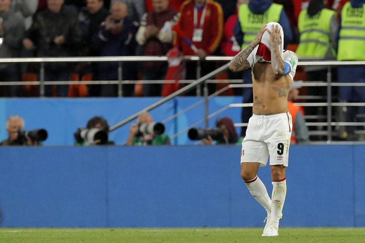 Perú eliminado del Mundial Rusia 2018 AP