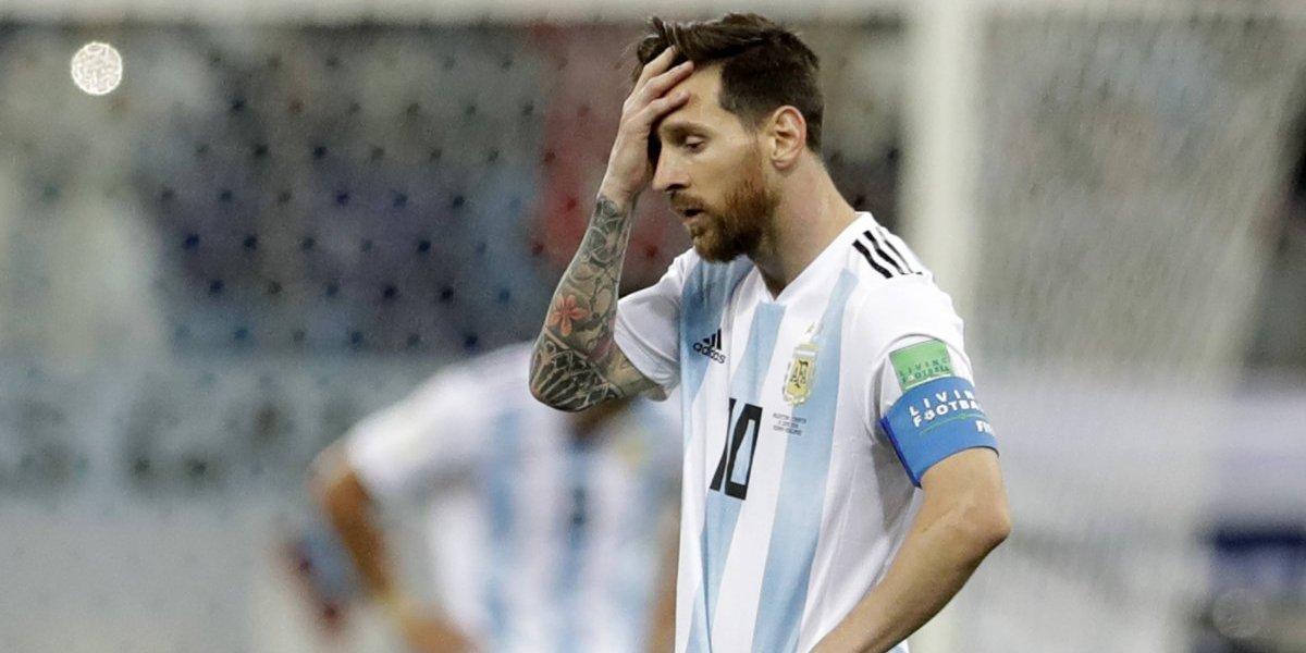 Caras que ya son costumbre: La tristeza de Argentina ya no le extraña a nadie y apareció en Rusia 2018