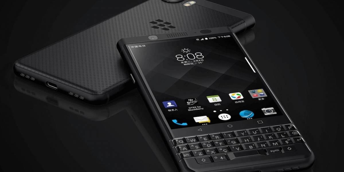 Blackberry KEYone Black Edition llega a México