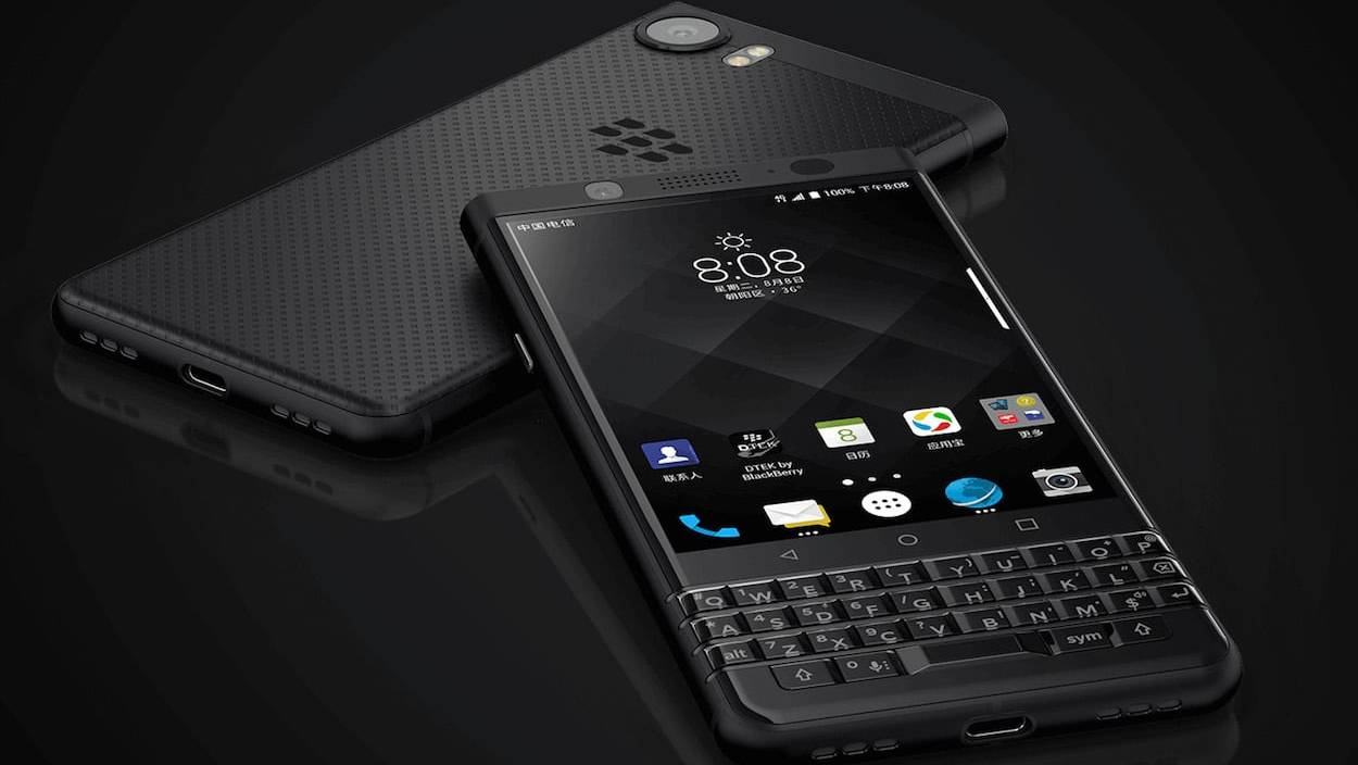 Blackberry KEYone Black Edition llega a México con Telcel