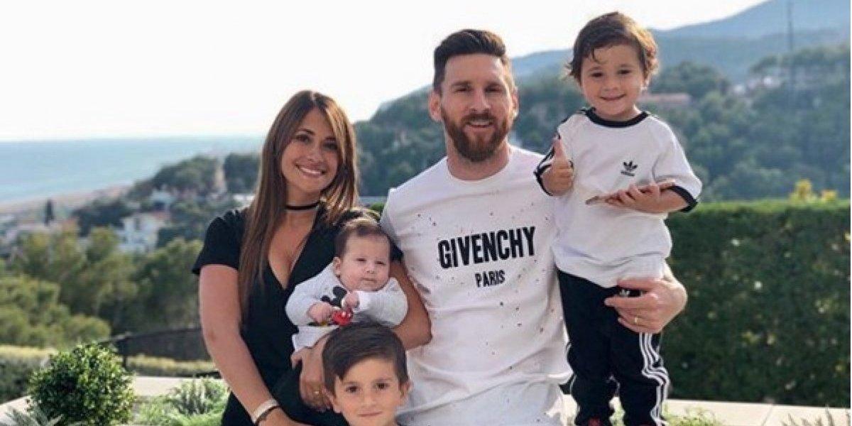 La tierna forma en que el bebé de Messi lo motiva previo al juego ante Croacia