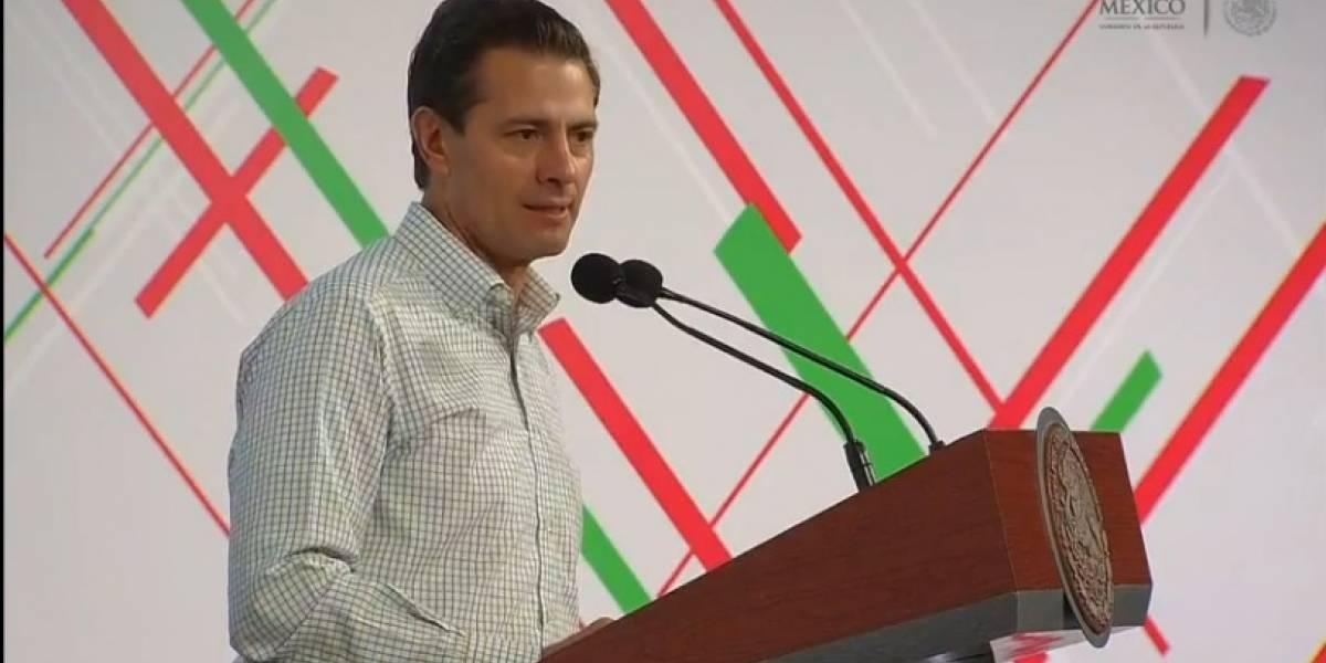 Es falaz que se pueda alcanzar la autosuficiencia alimentaria: Peña Nieto