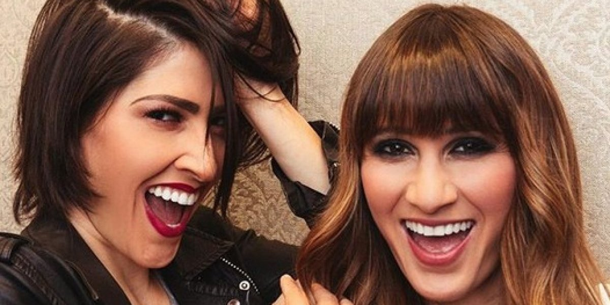 FOTO: Ashley de Ha*Ash sorprende a su hermana... ¡en el baño!