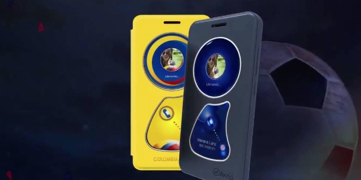Avvio lanza Colombia 2018, un smartphone de bajo costo que llega de forma exclusiva para el Mundial de Rusia