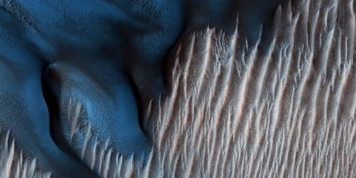 ¡Dunas azules en Marte! NASA presenta inédita fotografía